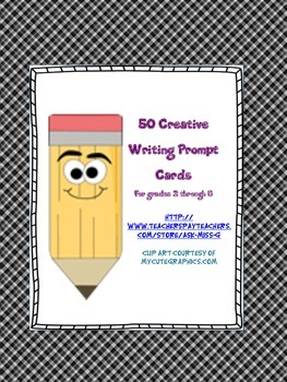 Writing Prompt Cards: Creative Writing Starters