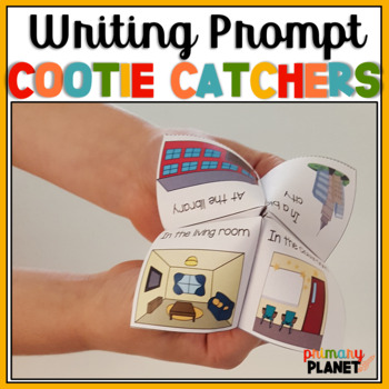 Story Starters: Writing Prompt Cootie Catchers: Hands on Writing Prompts!