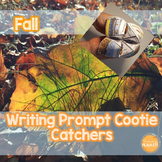 Fall Writing Cootie Catchers!  Perfect for Writer's Workshop and Writing Centers
