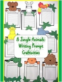 Writing Prompt Craftivities: Jungle Animals