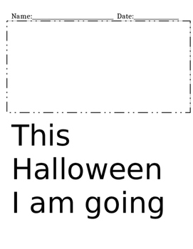 Writing Prompt For Halloween