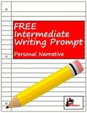 Free Writing Prompt: Narrative Writing
