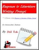 Free Writing Prompt: Response to Literature Writing