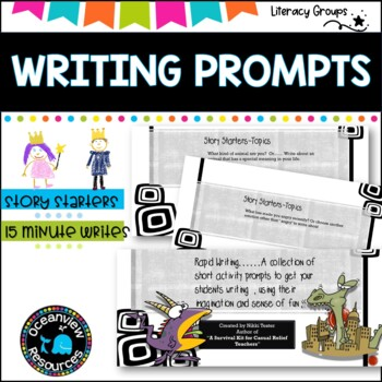 Writing Prompt Ideas -FREE.