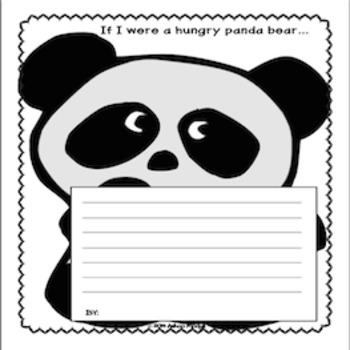 Opinion Writing Prompt: If I Were a Hungry Panda