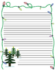 Writing Prompt: If I were a snowman for a day... and Christmas Tree page