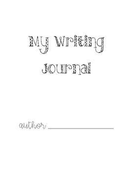 Writing Prompt Journal