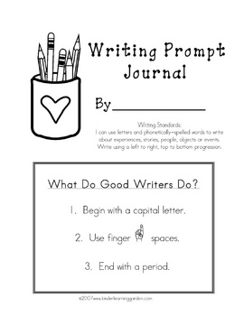 Writing Prompt Journal Set