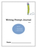 Writing Prompt Journal-Year Round