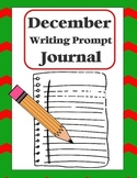 "Writing Prompt ""Journal"" for December (4th-8th)"