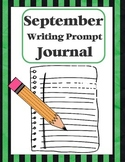 "Writing Prompt ""Journal"" for September (4th-8th)"