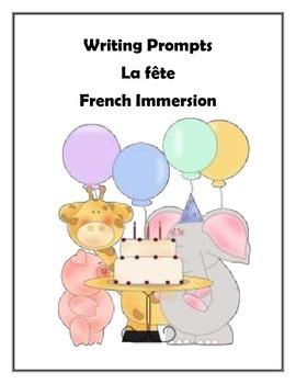 Writing Prompt - La fête