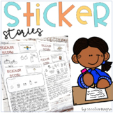 Writing Prompt Labels-Perfect for Centers or  Work on Writing *Common Core*