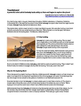 Writing Prompt - MARS by JennyG