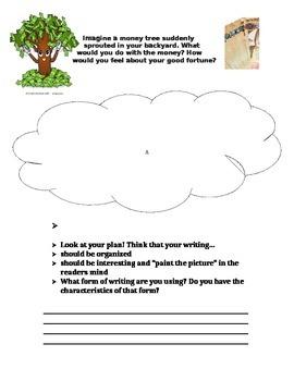 Writing Prompt- Money Tree
