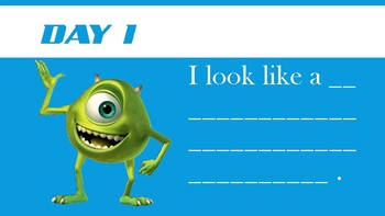 Writing Prompt Monsters Inc