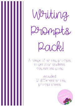 Writing Prompt Pack