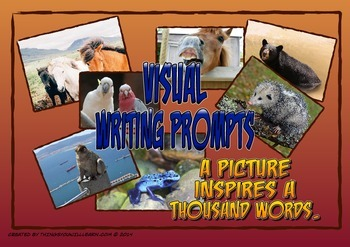 Writing Prompt Pictures and Story Starters (Animals)