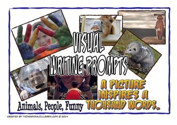 Writing Prompt Pictures and Story Starters (Animals, Peopl