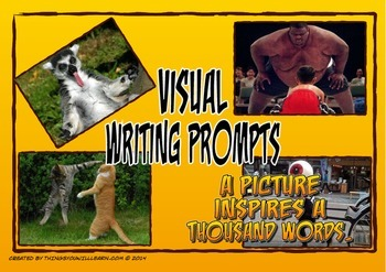 Writing Prompt Pictures and Story Starters (Funny)