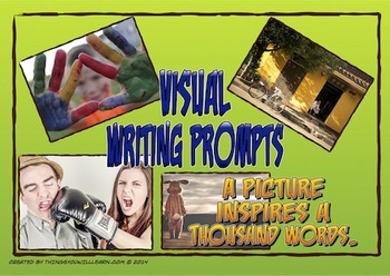 Writing Prompt Pictures and Story Starters (People)