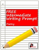 Free Writing Prompt: Writing Poetry