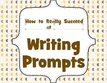 Writing Prompt Posters - TAGED