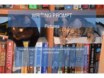 Writing Prompt PowerPoint Grade 1 and UP