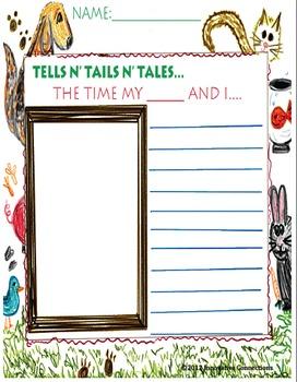 Writing Prompt Printable: Animal Tales- Tells n' Tails n' Tales