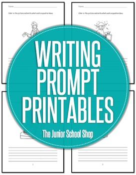 Writing Prompt Printables FREEBIE
