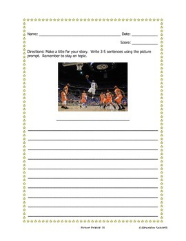 Writing Prompt and Rubric