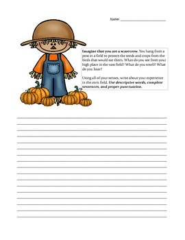 Writing Prompt: Scarecrow