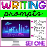 Writing Prompts: Set One -- Great for Distance Learning