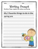 Writing Prompt- Spring