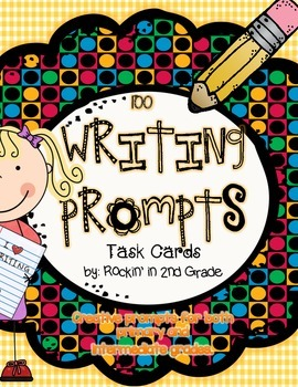 Writing Prompt Task Cards- A Super Workstation/Center Activity
