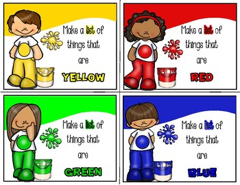 Writing Prompt Task Cards  - Differentiated