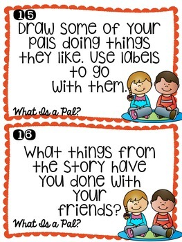 Writing Prompt Task Cards-Journeys Unit 1 Edition