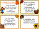 Writing Prompt Task Cards {November Edition}