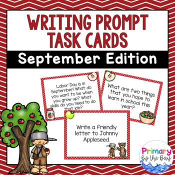Writing Prompt Task Cards {September Edition}