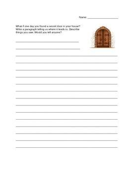 Writing Prompt: The Secret Door