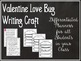 Writing Prompt:  Valentine's Love Bug in a Jar