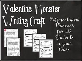 Valentines Day Writing Prompt: Monster in a Jar