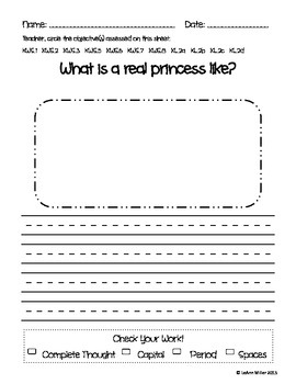 Writing Prompt - What is a Real Princess Like?