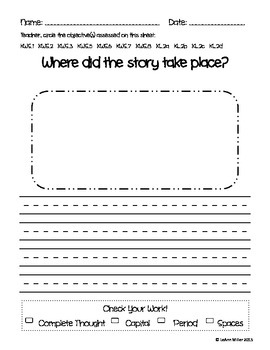 Writing Prompt - Where Did the Story Take Place?