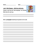 Writing Prompt Worksheet