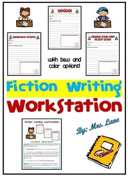 Fiction Writing Workstation