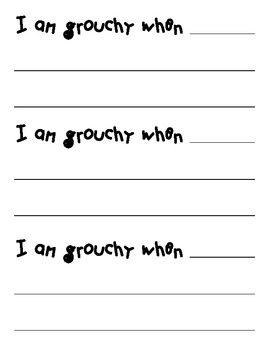 Writing Prompt for 'Grouchy Ladybug""