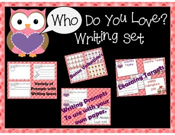 Writing Prompt for Valentine's Day:  Owl themed