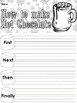 How to Make Hot Chocolate Writing Prompts and Worksheets