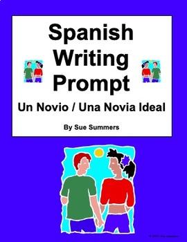 Writing Prompt in Spanish - Ideal Boyfriend or Girlfriend